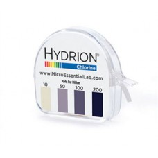 Hydrion Chlorine Test Paper 100-200 PPM