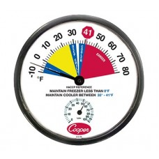 Freezer/Cooler Thermometer - 12""