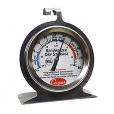 Refrigerator/Freezer Thermometer -20 to 80oF