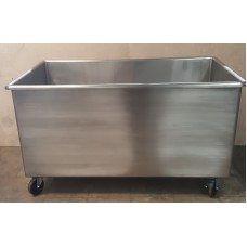 Stainless Steel Mobile Tub