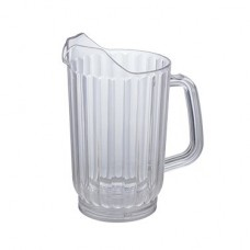 Single Spout Clear Water Pitchers